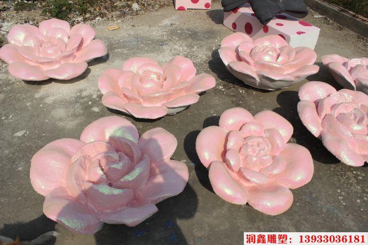 玫瑰花雕塑